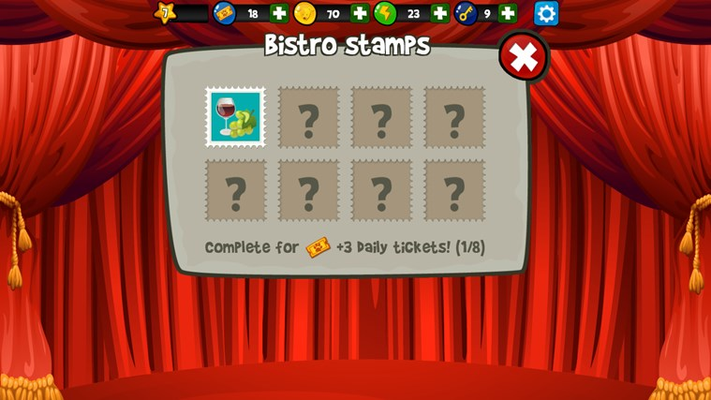Earn stamps and daily rewards!