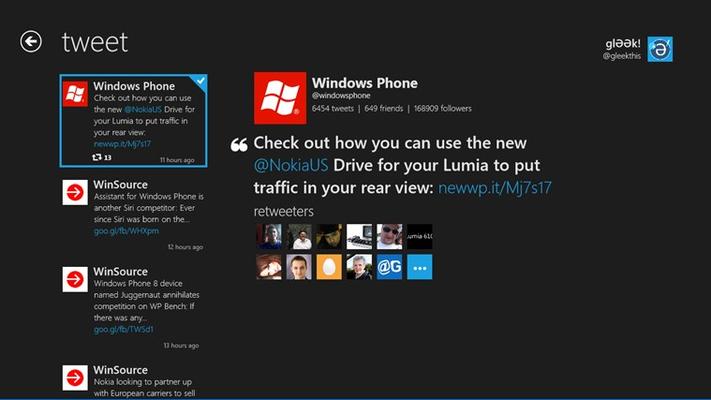 glƏƏk! for Windows 8