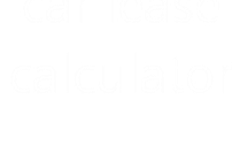 basic car lease calculator
