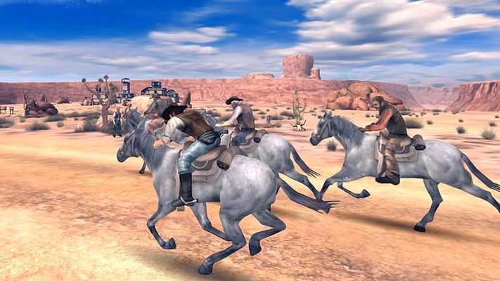 Unlock new Horses, Weapons & Clothes!