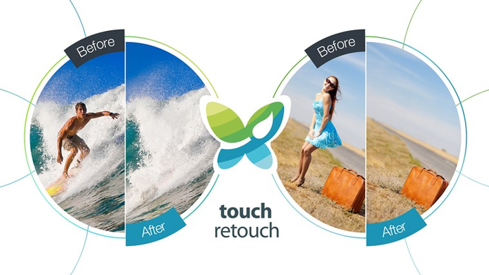 TouchRetouch allows removing blemishes and even entire objects from photos without distorting the background they have been removed from.