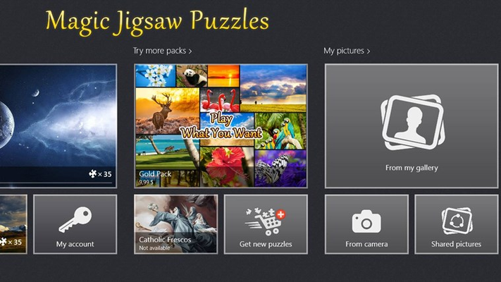 Magic jigsaw puzzles for windows 8 and 8 1 Majic app