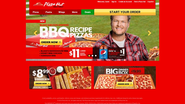 Choose and order your favorite pizza with the Pizza Hut app for Microsoft Windows 8.1
