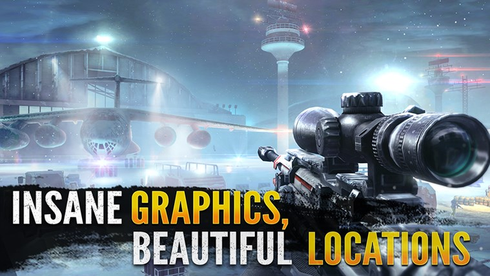 Insane graphics & beautiful locations