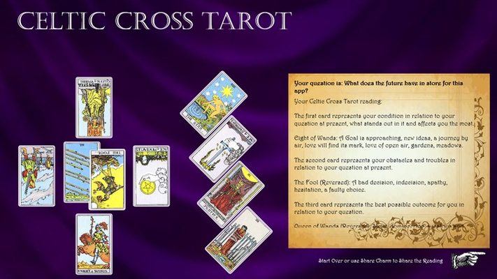 Celtic Cross Tarot for Windows 8