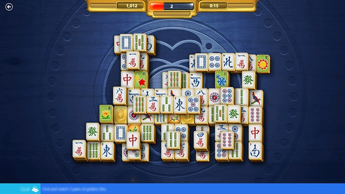 Microsoft Mahjong for Windows 8