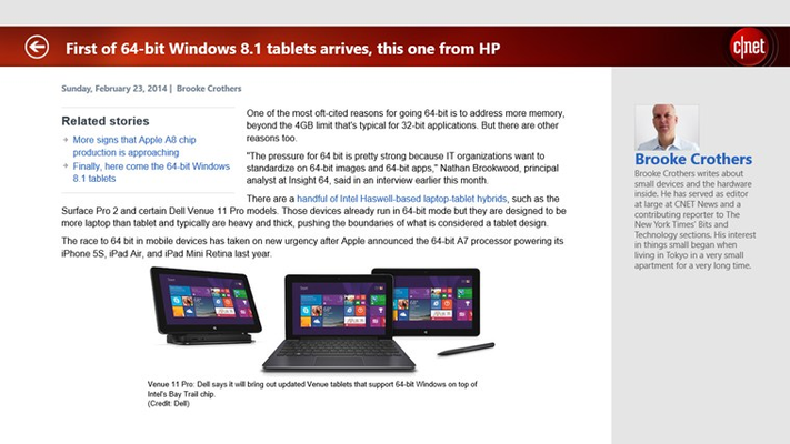 cnet for Windows 8