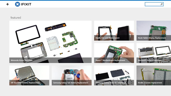 iFixit: Repair Manual for Windows 8