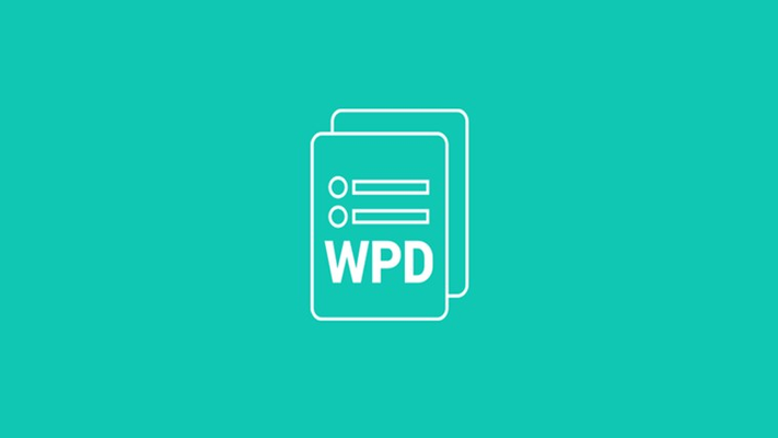 Open and edit WPD files