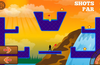 Dodge the obstacles or use a powerup to help you out.