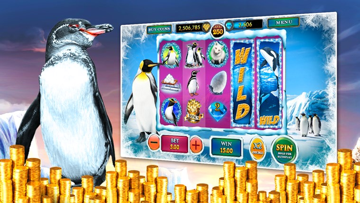 Lucky Penguin - Free Vegas Casino Slots for Windows 8