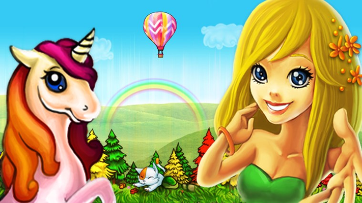 The magical creatures of Fairy Island are waiting for you!