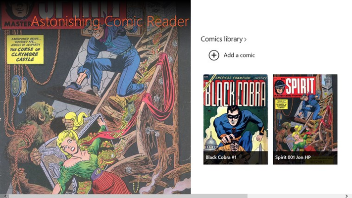 Read all your cbrand cbz comicbooks!
