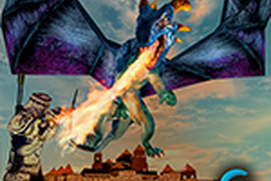 Flying Dragon Simulator 3D - War of Castles