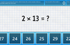 Speed Math. Answer as many equations as possible within the time limit.