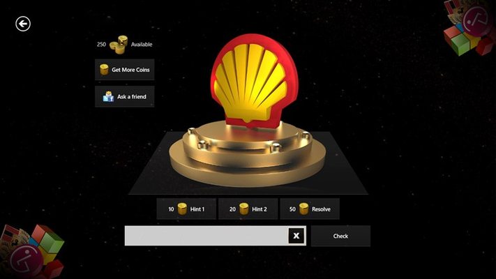 3D Logo Quiz for Windows 8