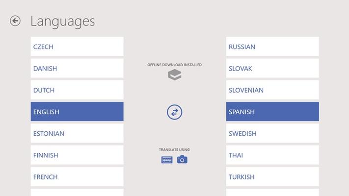 Comprehensive language support: translate between 40 languages