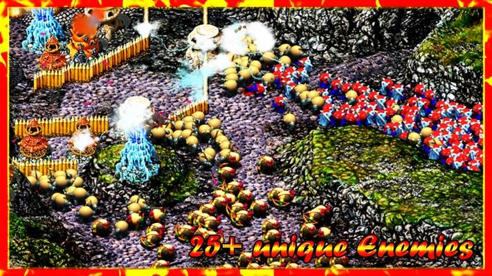 25+ unique enemies