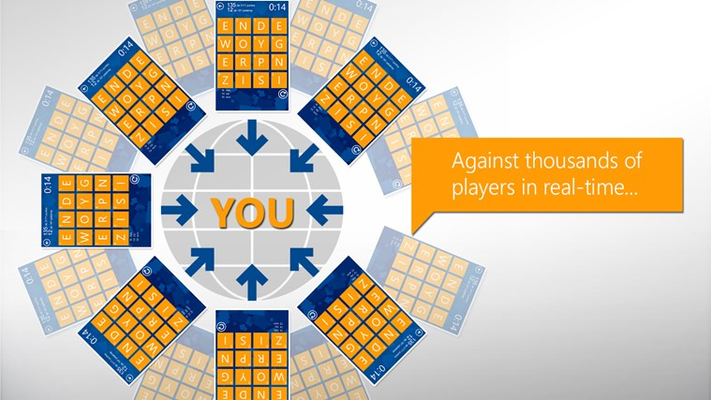 Play against thousands of players in real-time!