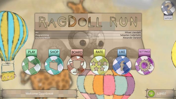Welcome to Ragdoll Run!