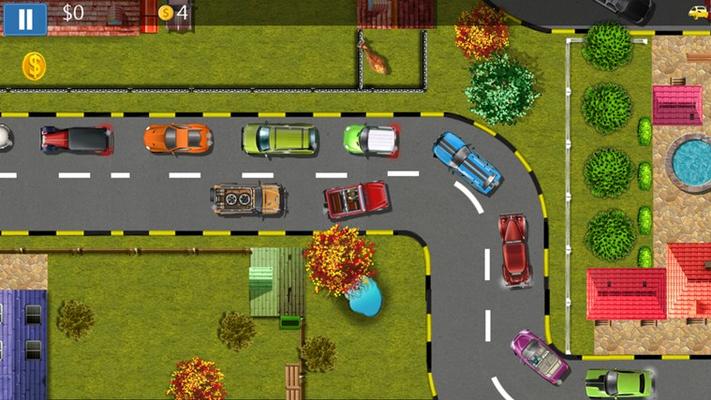 AI controlled traffic