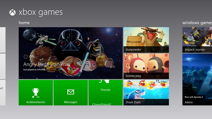 Games for Windows 8