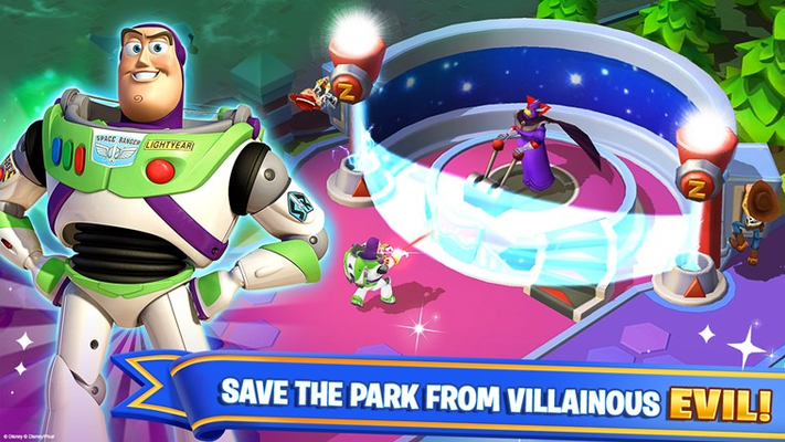 SAVE THE PARK FROM VILLAINOUS EVIL!