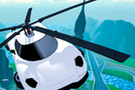 Flying Car Rescue Flight Sim