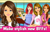 Meet Natalie, Katie and Cindy- the most popular girls at your new school!