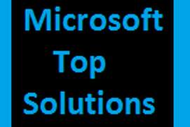 Microsoft Top Solutions