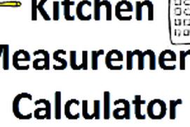 Kitchen Measurement Calculator