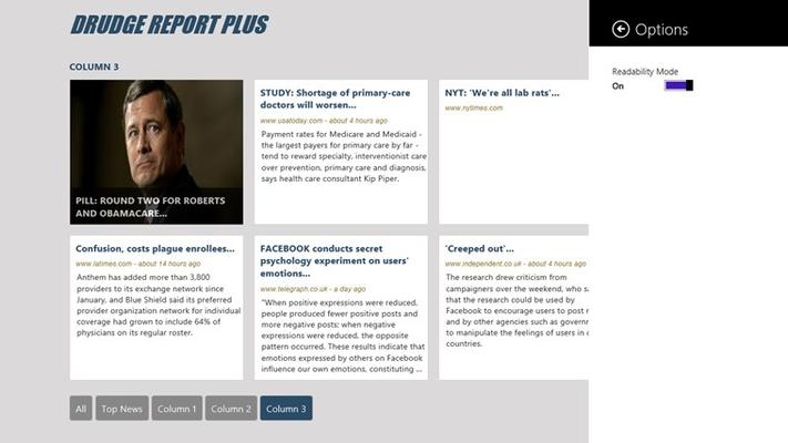 Drudge Report Plus for Windows 8