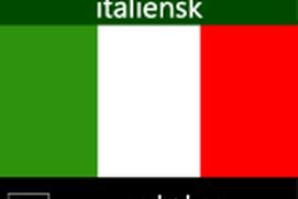 Lær italiensk-parlørbog