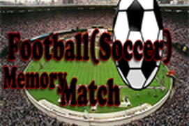 Football(Soccer) Memory Match