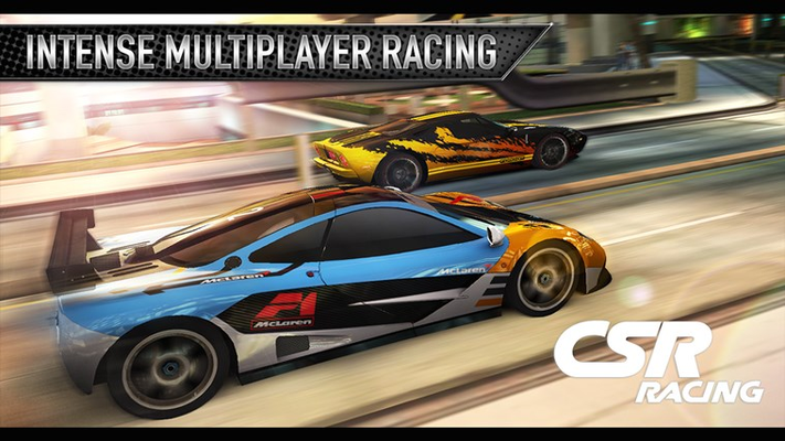 INTENSE MULTIPLAYER RACING