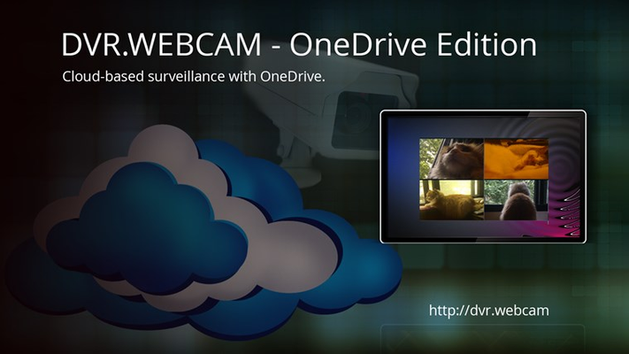 DVR.Webcam is a plug-and-play solution to personal surveillance.