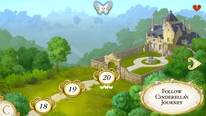 Follow Cinderella's Journey