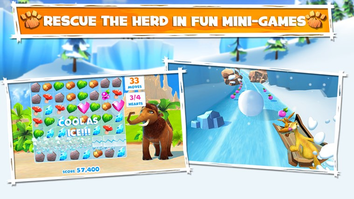 Rescue the herd with fun mini-games