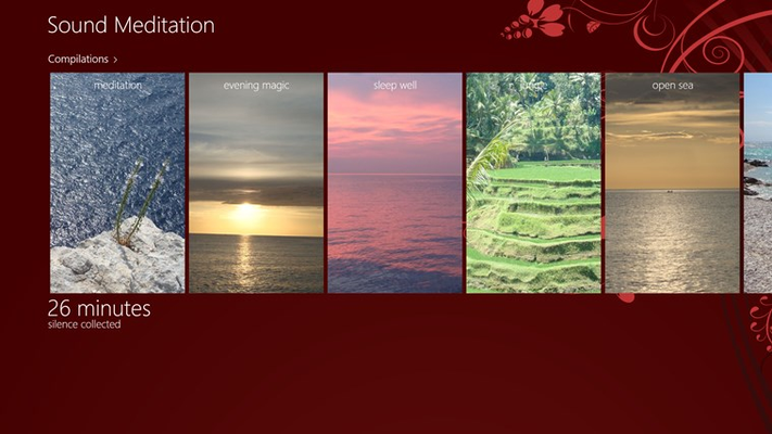 Sound Meditation for Windows 8