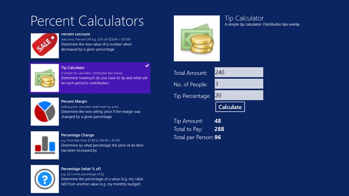 Tips Calculator