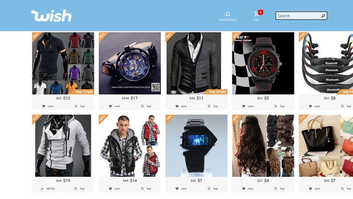 A fine selection of clothing and more