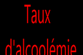 Alcoolémie