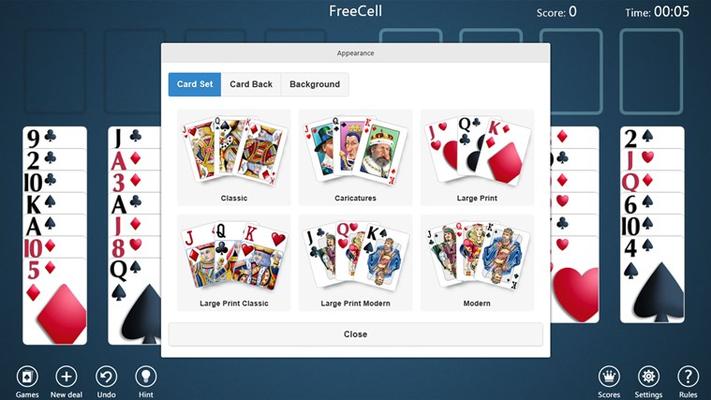 Select a Card Set
