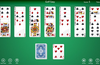 Golf solitaire layout