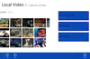 Video collections, you can create album and organize your videos, and access your favorite videos easily.