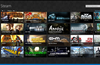 Browse your Steam games and pin them.