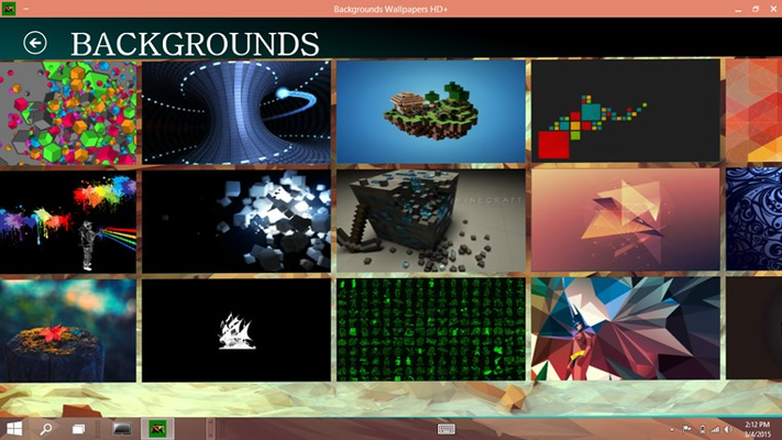 Backgrounds Collection