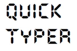 Quick Typer
