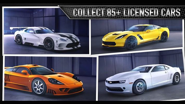 COLLECT 85+ LICENSED CARS