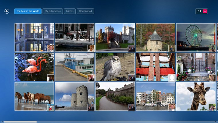 Create your own puzzles from your pictures!